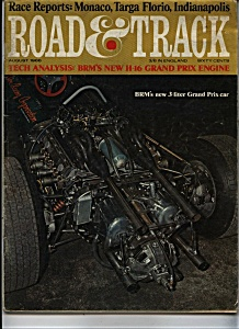 Road & Track magazine - August 1966 (Image1)