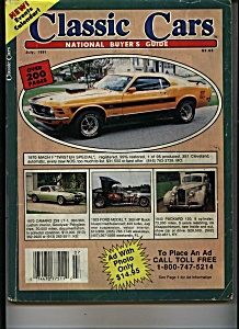 CLASSIC CARS - July 1991 (Image1)