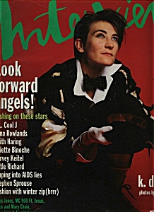 Interview  Magazine (Andy Warhol) - December 1992 (Image1)