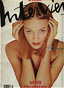 Interview Magazine (Andy Warhol) - October 1992