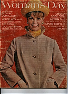 Woman's Day Magazine - March 1964 (Image1)