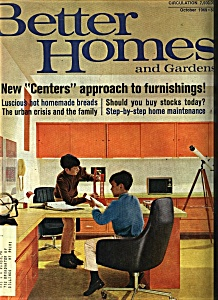 Better Homes and Gardens - October 1969 (Image1)