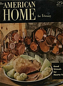 The American Home Magazine- February 1952 (Image1)