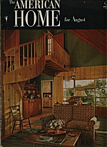 The American Home Magazine - August 1952 (Image1)