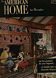 The American Home Magazine - December 1951