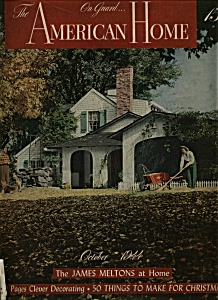 The American Home Magazine - October 1944