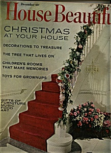 House Beautiful Magazine - December  1965 (Image1)