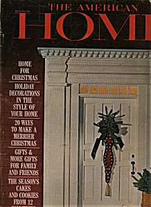 The American Home Magazine = December 1964