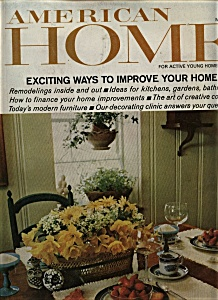 American Home Magazine - May 1967
