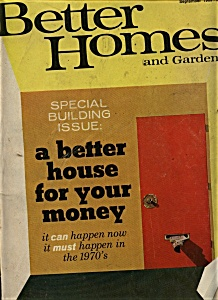 Better Homes and Gardens - September 1969 (Image1)