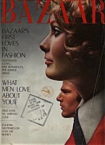 Harper's Bazaar Magazine - Feb. 1969 (Image1)