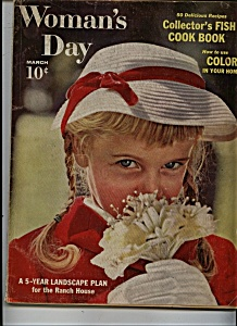 Woman's Day Magazine - March 1959 (Image1)