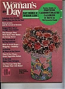 Woman's Day  Magazine - March 1, 1978 (Image1)