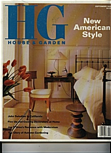 HG House & Garden Magazine - September 1990 (Image1)