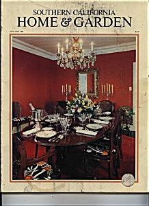 Southern California Home & Garden Magazine - 1980 (Image1)