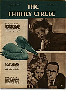 The Family Circle magazine - August 19th ,1938 (Image1)
