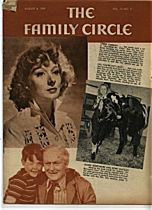 The Family Circle Magazine - August 4, 1939