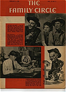 Family Circle Magazine - February 2, 1940 (Image1)