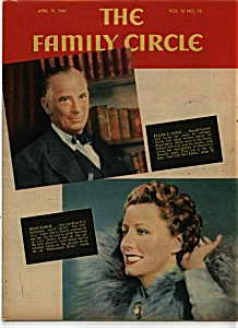 The Family Circle Magazine- Ap.ril 19, 1940