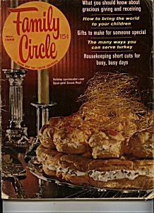 Family Circle magazine - Nov. 1965 (Image1)