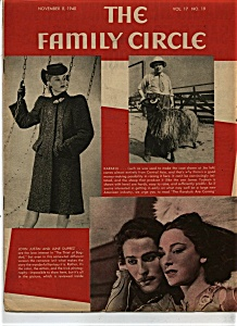 The Family Circle Magazine - November 8, 1940
