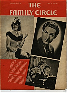 The Family Circle Magazine- December 20, 1940 (Image1)