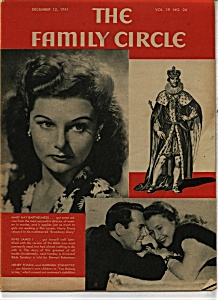 The Family Circle Magazine- December 12, 1941