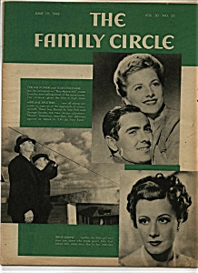 The Family  Circle magazine - June 19, 1942 (Image1)