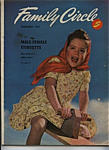 Family Circle Magazine - September 1949