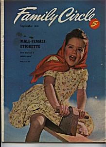 Family Circle magazine - September 1949 (Image1)