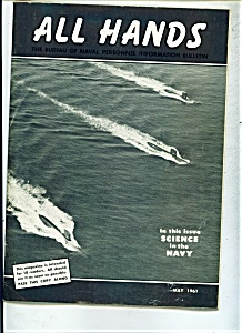 US Navy - All Hands magazine -  May 1961 (Image1)