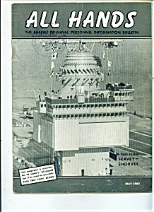 Us Navy - All Hands Magazine - May 1962