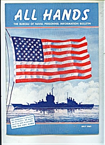 Us Navy - Allhands Magazine- July 1962
