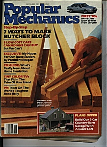 Popular Mechanics Magazine  = September 1984 (Image1)