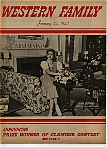 Western Family  Magazine - January 22, 1942 (Image1)