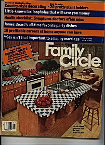 Family Circle Magazine - March 13, 1979