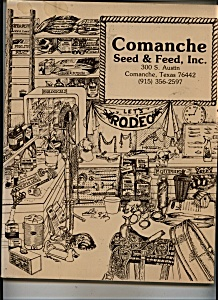 Comanche Seed & Feed Inc. Catalog - Texas (Image1)