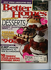 Better Homes and Gardens magazine - February 1991 (Image1)