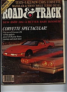 Road & Track Magazine- March 1983 (Image1)