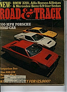 Road & Track Magaz ine - September 1976 (Image1)