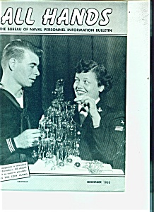 U.S. Navy - All Hands magazine .  December 1952 (Image1)