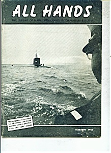 U.S. Navy - All Hands magazine -  February 1962 (Image1)