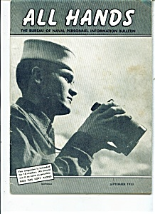 U.S. Navy - All Hands magazine - September 1953 (Image1)