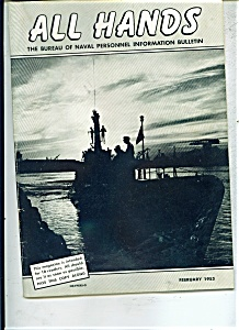 U.S. Navy - All Hands magazine- February 1953 (Image1)
