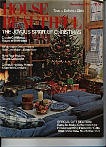 House Beautiful Magazine - December 1978 (Image1)
