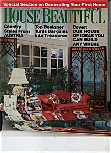 House Beautfiul Magazine - June 1985