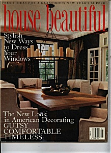 House Beautiful magazine - January 1993 (Image1)
