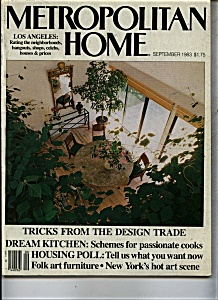 Metropolitan Home magazine - September 1983 (Image1)