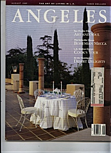 Angeles Magazine - August 1989 (Image1)