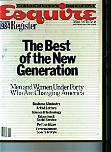 Esquire Magazine - December 1984 (Image1)